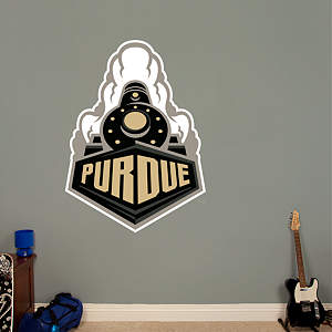Purdue Boilermakers - Train Logo Fathead Wall Decal